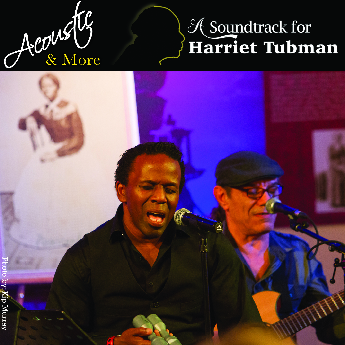 Album Cover - Square - A Soundtrack for Harriet Tubman Acoustic and More