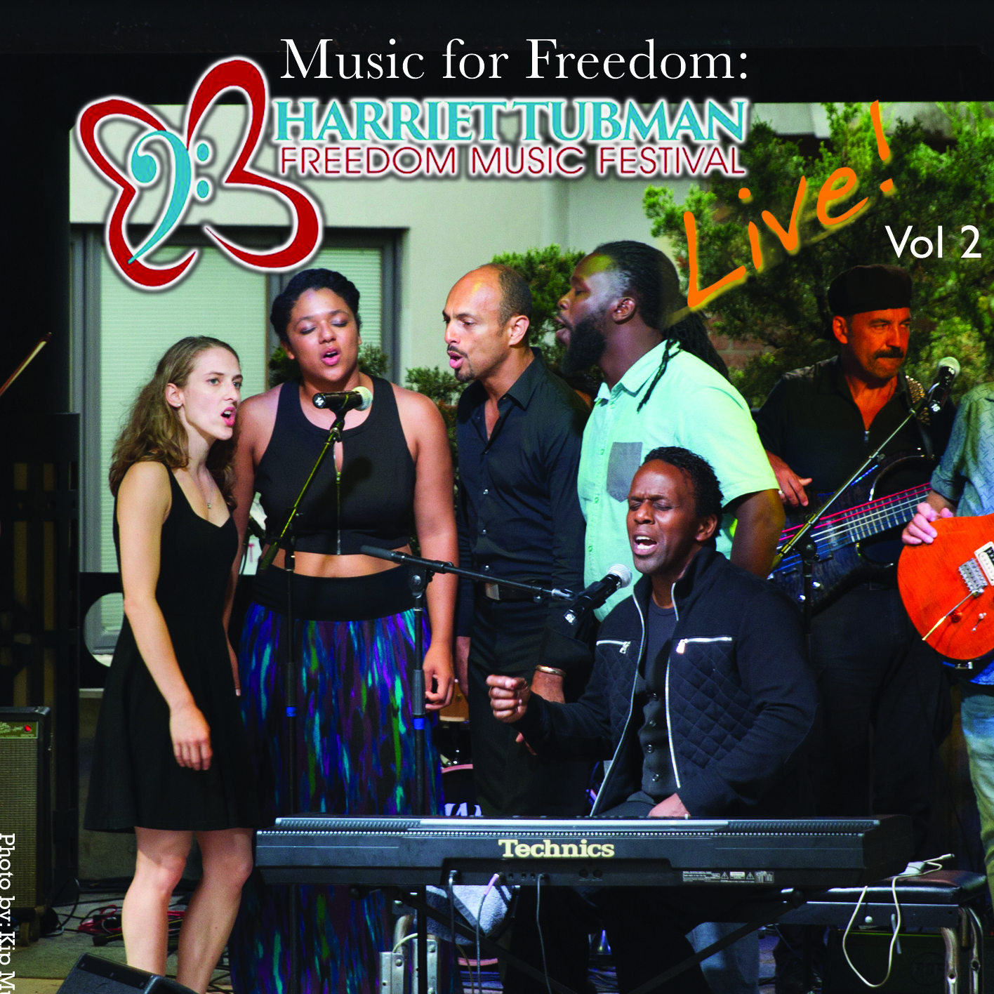 Album Cover - Square - Music for Freedom Harriet Tubman Freedom Music Festival Live Volume 2