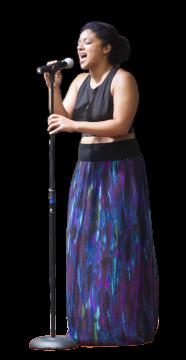 Harriet Tubman Freedom Music Festival - 2018 - Devon McLeod - Blackbird - silhouette