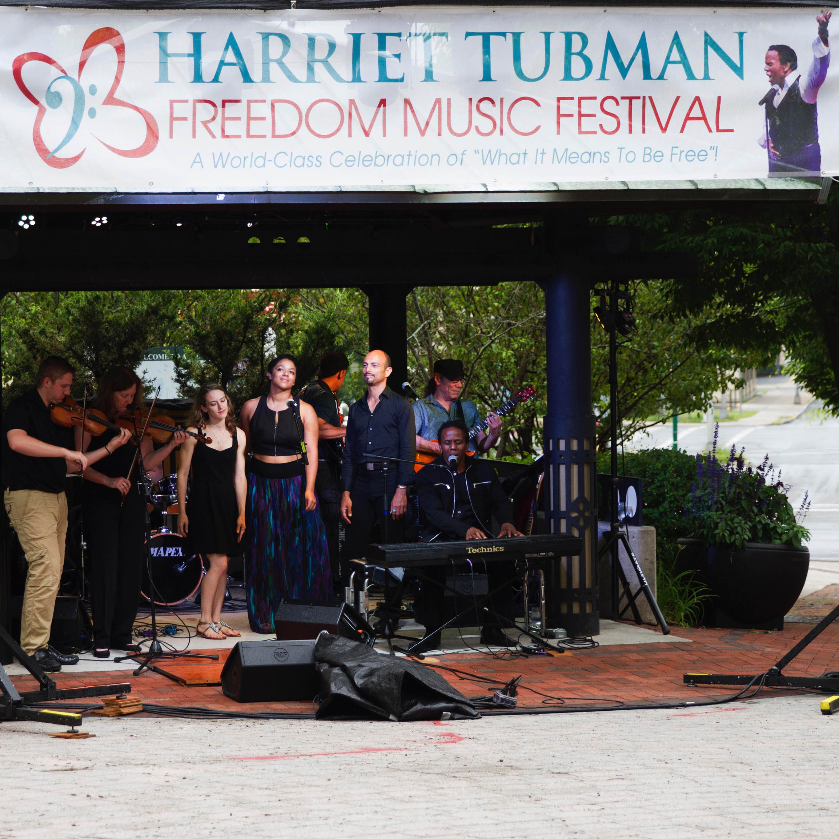 Harriet Tubman Freedom Music Festival - Kip Murray - website - event square