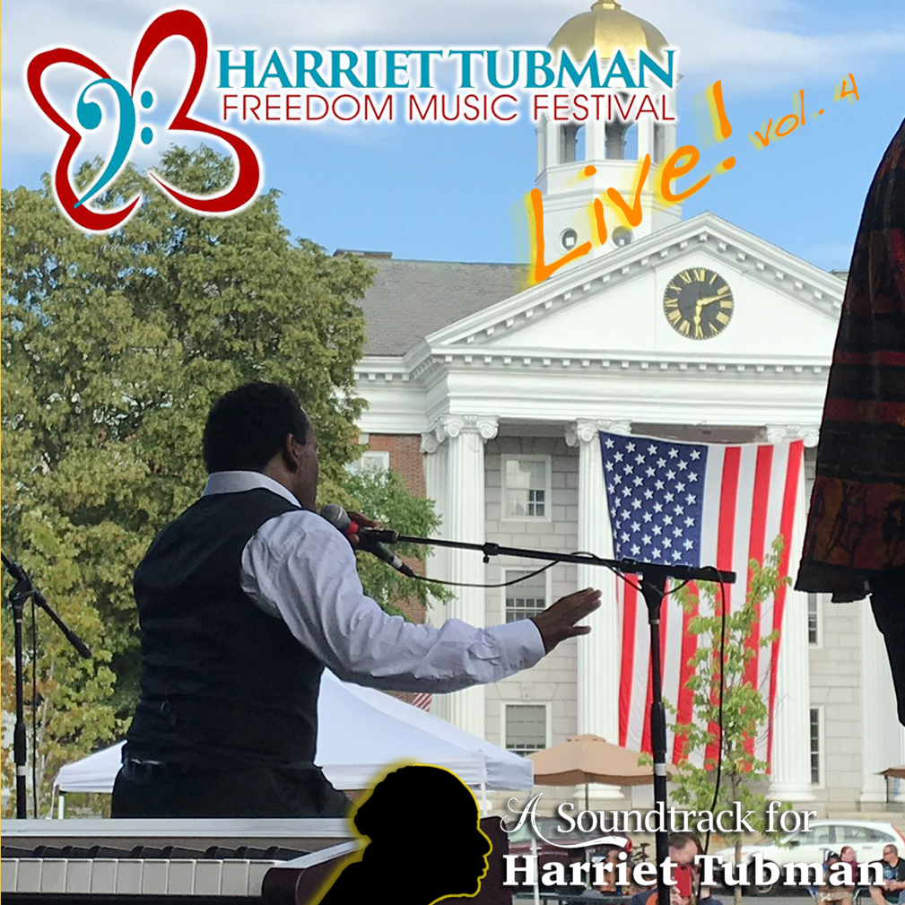 Harriet Tubman Freedom Music Festival Live! - vol 4 - Booklet-COVER - square